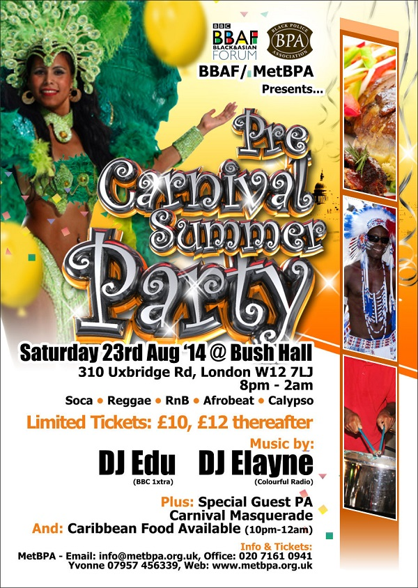 Carnival Summer Party Eflyer MetBPA and BBFA